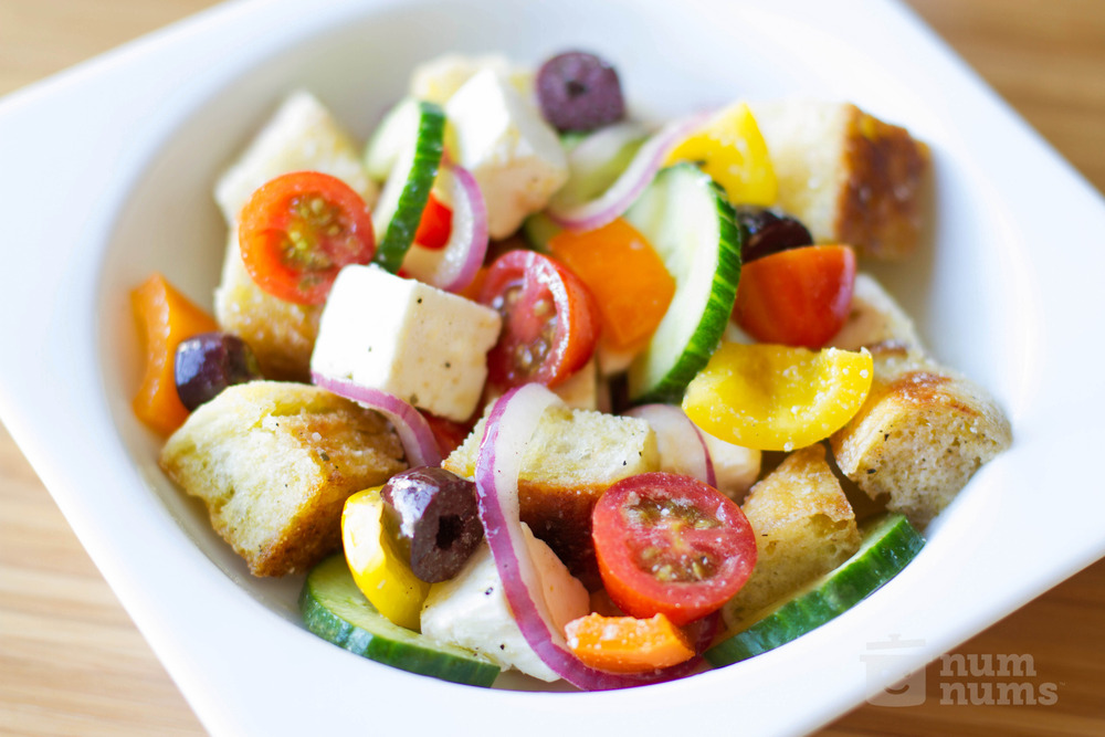 curridiculum: ina garten greek salad
