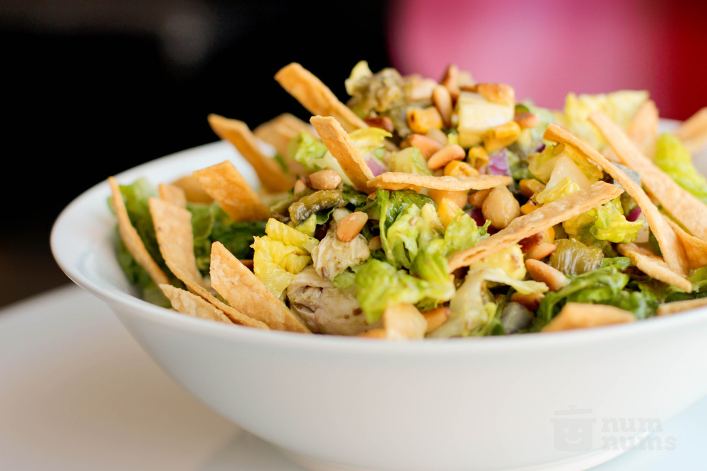 mexican chopped salad with cumin dressing from LA's Border Grill on ...
