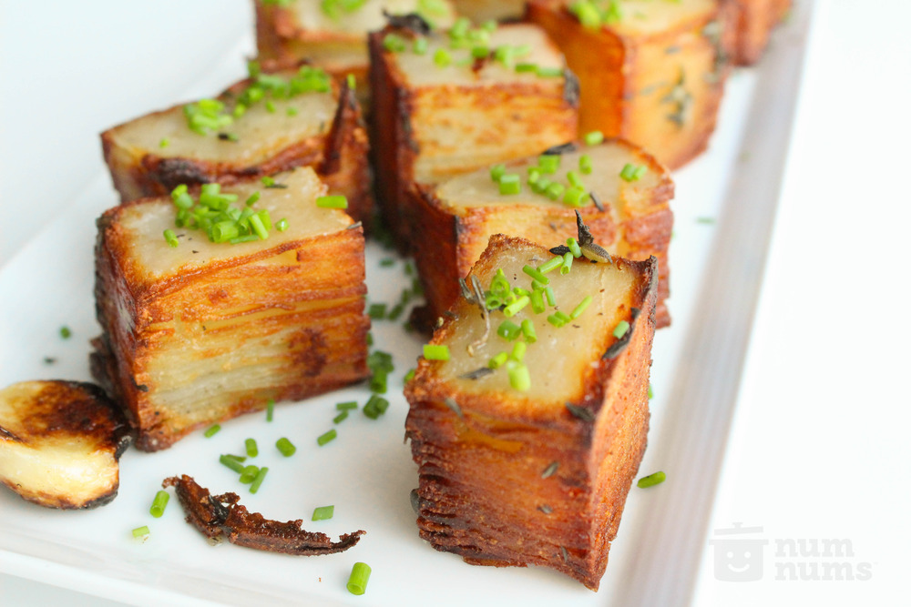 thomas keller\'s potato pave