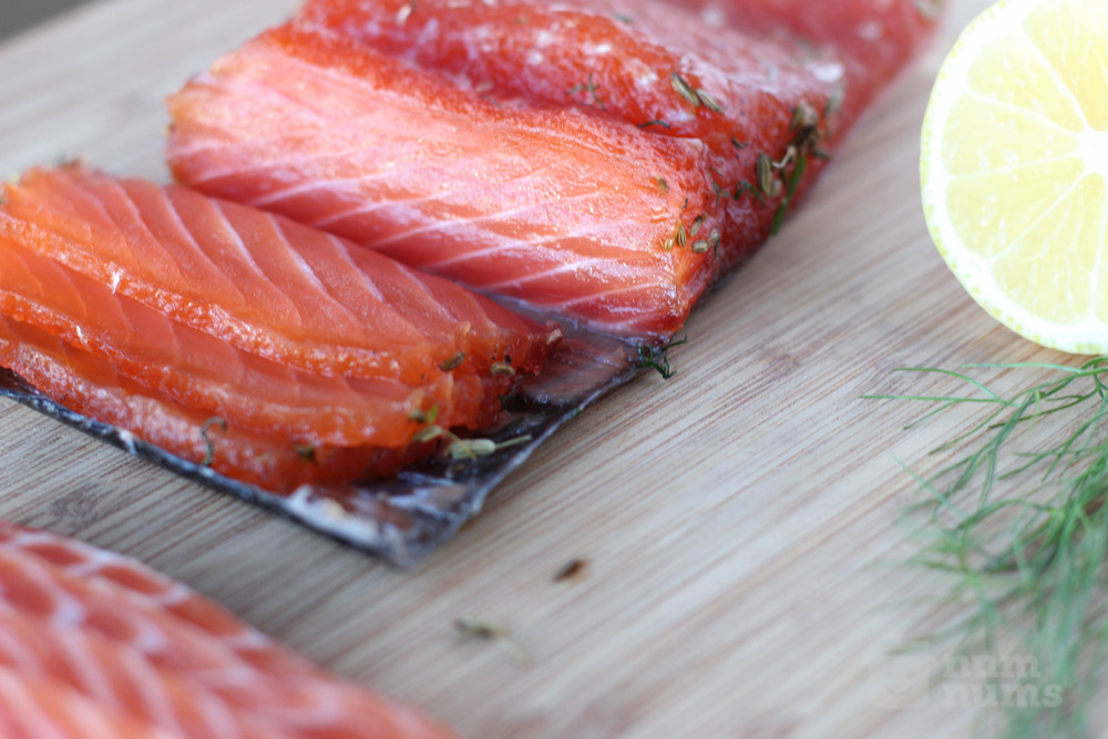 GQ\'s sazerac-cured salmon